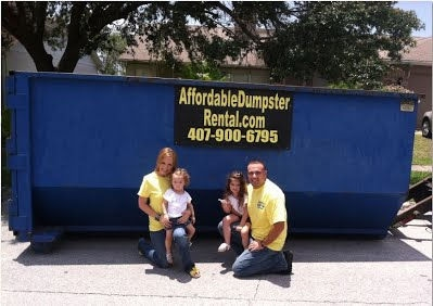 rent a roll off dumpster in orlando florida