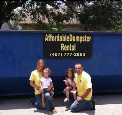 Dumpster rental in Orlando, FL